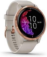 Garmin Venu – wodoszczelny smartwatch GPS z wyświetlaczem AMOLED, planami treningowymi i animowanymi ćwiczeniami.