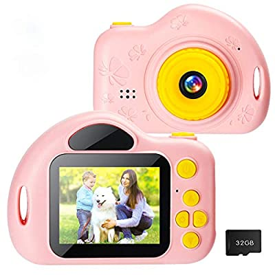 Amazon - Save 50%: Taoist Kids Camera with 1080P 2 Inch IPS Screen ,HD Digital Video Camera…