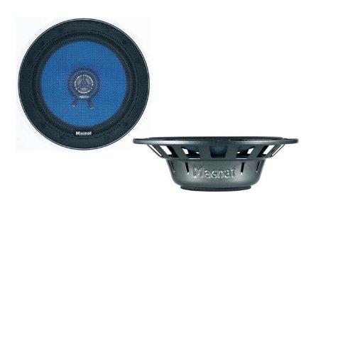 Magnat Profection 102 2-Wege 10 cm Auto-Koaxial-Lautsprecher (50/200 Watt) schwarz/blau