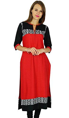 Phagun Phagun Ethnische Kurti indischen Bollywood Designer Kurta Women Casual Tunika Kleid