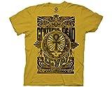 Ripple Junction Grateful Dead Egypt 1973 Adult T-Shirt MD Ginger