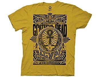 Ripple Junction Grateful Dead Egypt 1978 Adult T-Shirt MD Ginger