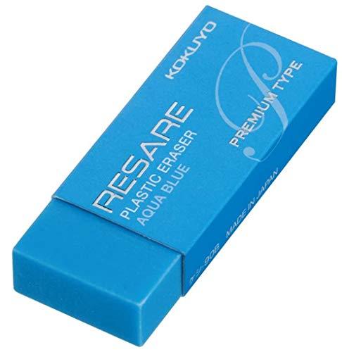 コクヨ 消しゴム リサーレ プレミアムタイプ 青 10個セット ケシ-90BX10
