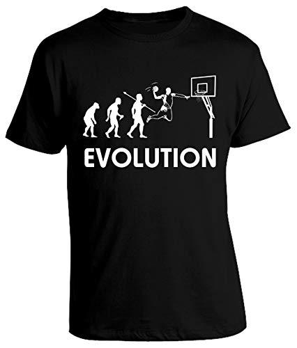 bubbleshirt Tshirt Basket Evolution - Evoluzione Basket - Humor
