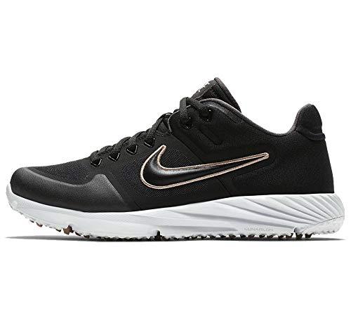 Nike W Alpha Huarache Elite 2 Turf Womens Baseball Shoes Bq4164-002 Size 10
