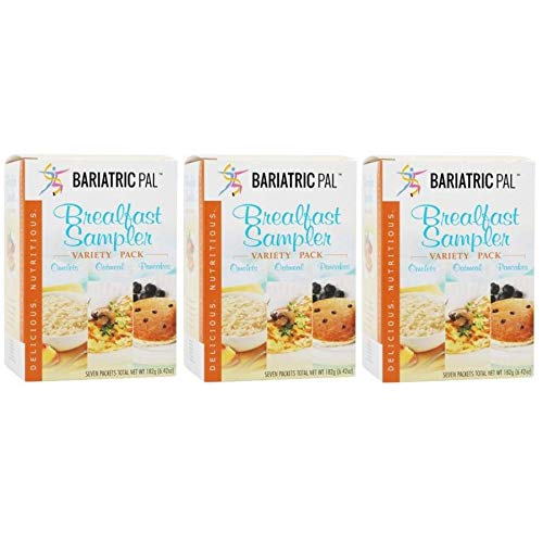 BariatricPal Hot San Antonio Mall Protein Breakfast Sampler Recommendation 3-Pac Variety Pack -