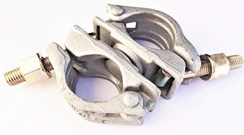 1 x Drehbare Kupplung 48,3 mm SW22 EN74-B 1,4 KG Gerüstkupplung Drehkupplung Kupplung für Gerüst NEU