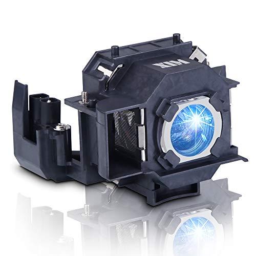 Lanwande Lámpara de proyector de Repuesto ELPLP33 con Carcasa, Compatible con Elplp33, Apto para EMP-TW20 / EMP-TWD1 / EMP-S3 / EMP-TWD3 / EMP-TW20H / EMP-S3L / PowerLite Home 20 / MovieMate 25