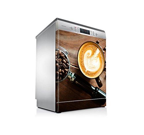 setecientosgramos Vinilo Lavavajillas | Stickers Dishwasher | Pegatina Lavavajillas | Coffee