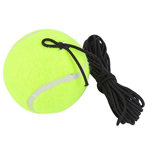 Haofy Pelota de Entrenamiento de Tenis con Cuerda, Pelota de Rebote de Entrenador de Tenis, Juego de Entrenador de Pelota de Tenis con Cuerda elástica de Goma de 4M para Práctica de Principian