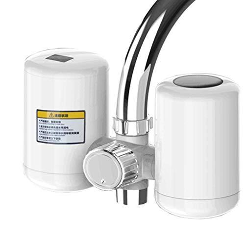 Grifo Calentador eléctrico instantáneo de instalación Gratuita, purificación de Agua, Grifo de Cocina de Agua Caliente Tres en uno con Pantalla Digital LED para instalaciones domésticas