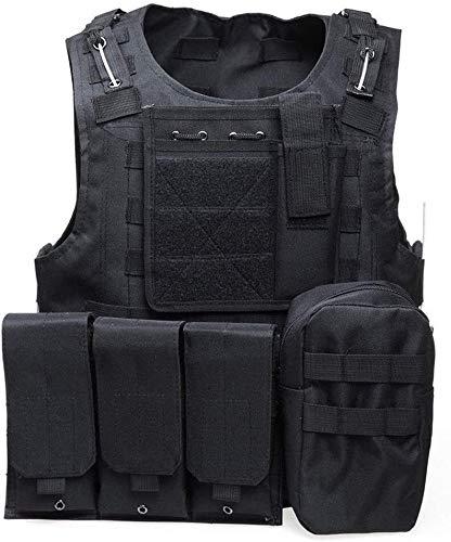 Coole atletiek De jacht camouflage militaire tactisch oorlog spel vest body armor mol jacht vest CS outdoor jungle trainingsapparatuur hjm zhanshubeixin (Color : 1)