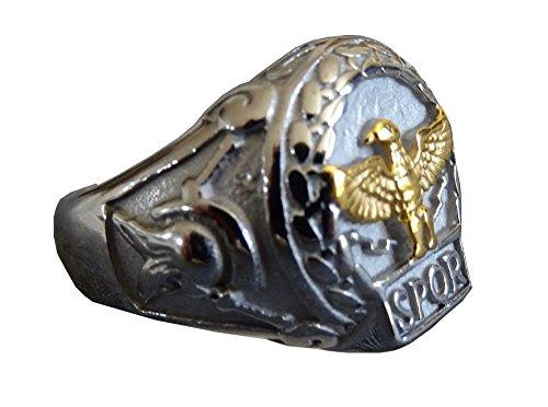 Schmuck Das alte Rom Signet Roman SPQR Emblem der römischen Republik (64 (20.4))