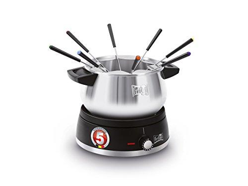Fritel F0 2580 - fondue/gourmet/woks (zwart, roestvrij staal, synthetisch, roestvrij staal)