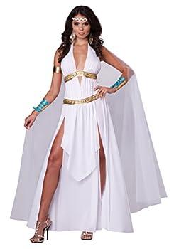 Women s Glorious Goddess Costume Large White