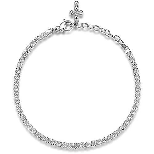 Bracciale croce donna Tennis Brosway BEI035 acciaio 316L collezione Desideri
