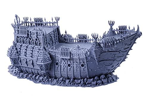 The Black Pirate Ship