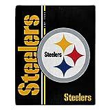 Northwest NFL Pittsburgh Steelers 50x60 Raschel Restructure DesignBlanket, Team Colors, One Size (1NFL070860078RET)