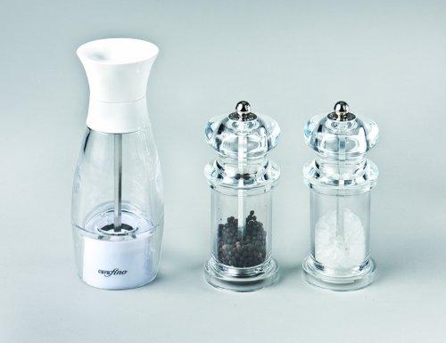 Stoha acrylico à sel/moulin à poivre 18 cm (acrylique/blanc