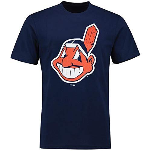 MLB T-Shirt Cleveland Indians Francisco Lindor #12 Baseball Trikot Jersey (S)
