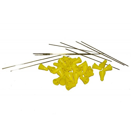 g8ds 100 Blasrohr-Darts Stahl Pfeil für Präzisions Blasrohr Ersatzpfeile
