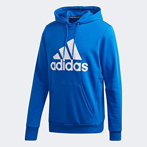adidas Mh Bos Po Ft Sweatshirt, Herren L blau/weiß