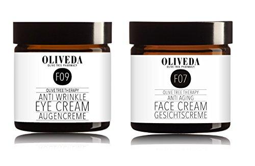 Oliveda Augencreme (30ml) + Anti Aging Gesichtscreme (30ml)