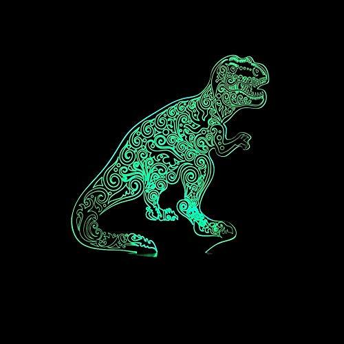 8bayfa De dinosaurus USB-3D nacht creatieve geschenken 3D-lampen decoratieve verlichting powerbank 3D-verlichting tafellamp