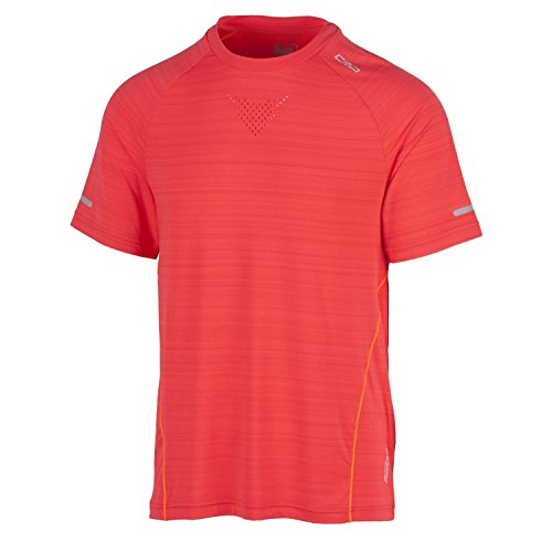 CMP Fonctionnel T-Shirt T-Shirt de Course Orange dryfu Multifunction réflecteurs 3 C93477, Orange