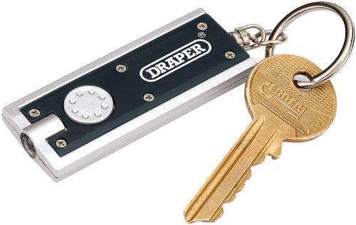 Draper 02473 Porte-clé lampe de poche 1 LED Lot de 2 (Import Grande Bretagne)