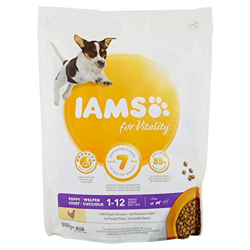 IAMS For Vitality Puppy Small&Medium Chicken for Small and Medium Dogs Puppies - 800g