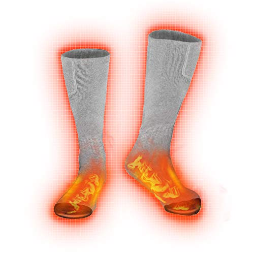 Heated Socks,Electric Heated Socks Thermal Insulated Sock Battery Powered Heat Sox, Winter Foot Warmer Socks for Men and Women
