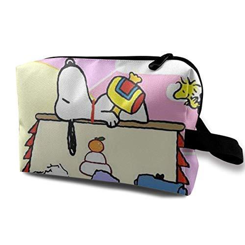 Neceser Snoopy and Peanuts Bolsa de maquillaje para mujeres y niñas