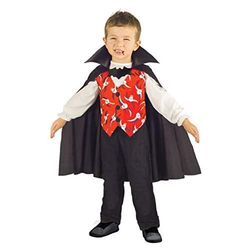 Ciao-Costume Bambino Vampiro Dracula, 3-4 Anni, Colore Nero, 61316.3-4.DS