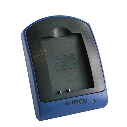 Cargador (Micro-USB, sin Cables/adaptadores) para Nikon EN-EL23 / Coolpix P600, P610, P900, S810c