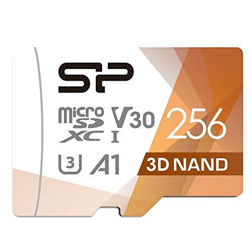 Silicon Power - Scheda di Memoria MicroSDXC UHS-3 da 256 GB (FBE-SU256GBSTXDU3V20EU)