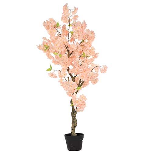 Plantas de interior Árboles Artificial del Cerezo Rosa Sakura Árboles for la Decoración Casera for la Boda Eventos en Interior del Partido al Aire Libre Restaurante Alameda para la decoración del hoga