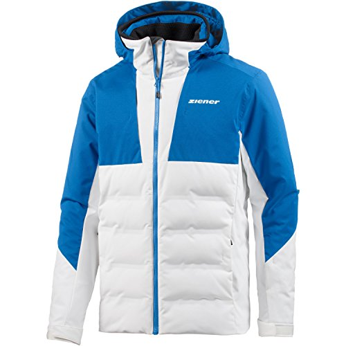 Ziener Herren Tamar Jacket ski Skijacke, White, 52