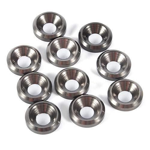 XBaofu 10pcs M3 aleación de Aluminio de Cabeza avellanada y Colorido del...