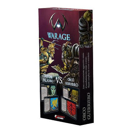 Warage Duel Deolck: Tritorne Paladino vs. Orco Guerriero