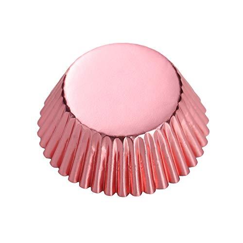 Rose Gold Metallic Cupcake Liners