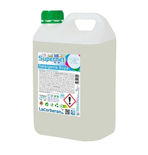 LA CORBERANA 117050 Detergente Ropa, Supernet Profesional, 5 Litros
