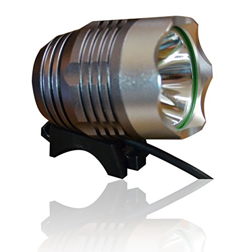 Rechargeable Bike Light - Road and Mountain CREE LED Headlight - Bright Beam to Improve Safety