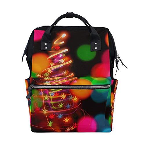 G.H.Y Baby Windel Wickeltasche Reiserucksack Mama Tasche Weihnachtsbeleuchtung Lampen für Mama Papa M von Top Carpenter