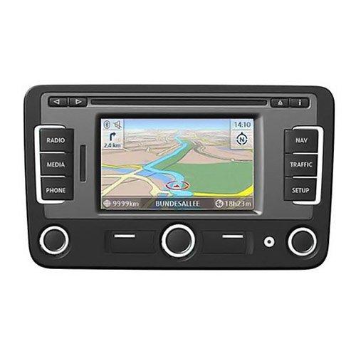 Volkswagen RNS 315 Radio-navegador GPS con mapas de Europa Occidental con Bluetooth y Dab/Dab + / RVC-Compatible
