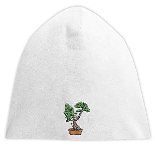 Desconocido Bonzai Tree Thinking Man Art Beanie Hood Unisex Gorra Transpirable Sombrero Cómodo Jersey One Size