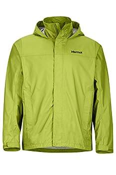 Marmot Men s Precip Light-weight Waterproof Rain Jacket Green Lichen X-Large