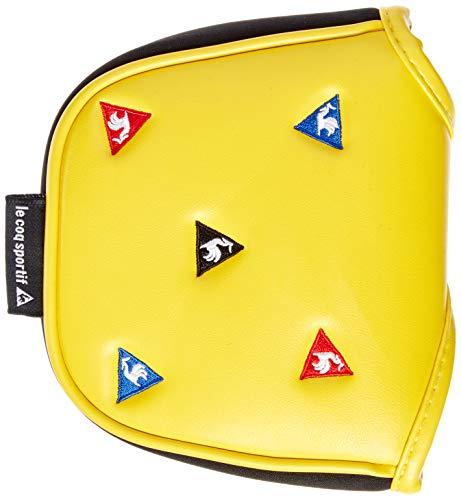 [ルコックスポルティフゴルフ] 【20年秋冬モデル】 パターカバー 異形ヘッド対応 QQBPJG52 BK00(ブラック) マグネットを使用したパターカバーです。ツーボールやネオマレット型の異形ヘッド型パターに適応出来ます。ルコックの三角マークを多色に刺繍