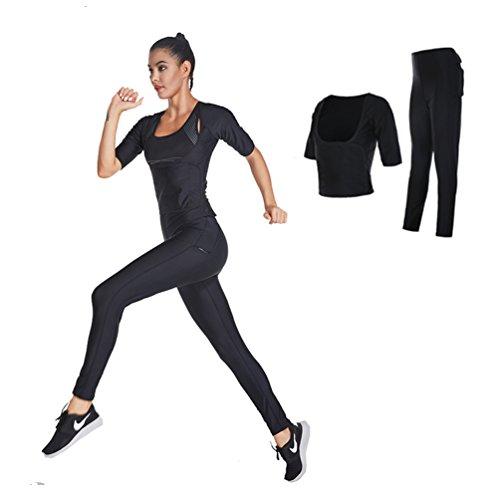 Fanceey Perdita di Peso Abbigliamento Dimagrante Khan Fitness Dimagrimento Sudore Sauna Fitness E Palestra Tute Fitness