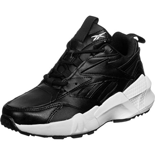 Reebok AZTREK Double Mix, Gymnastics Shoe Mujer, Black/White/None, 38 EU